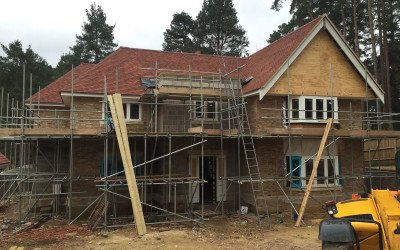 Middlemarch – Brickwork finished